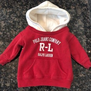 Infant Ralph Lauren Pullover Hoodie